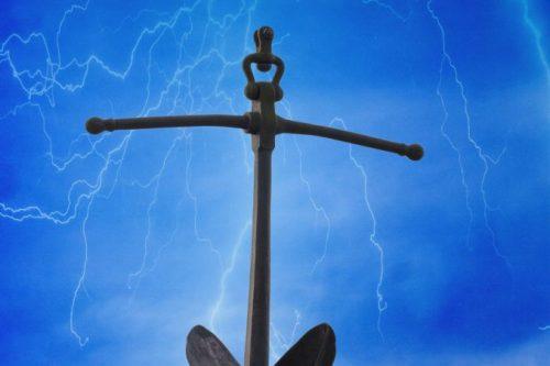 Anker im Sturm