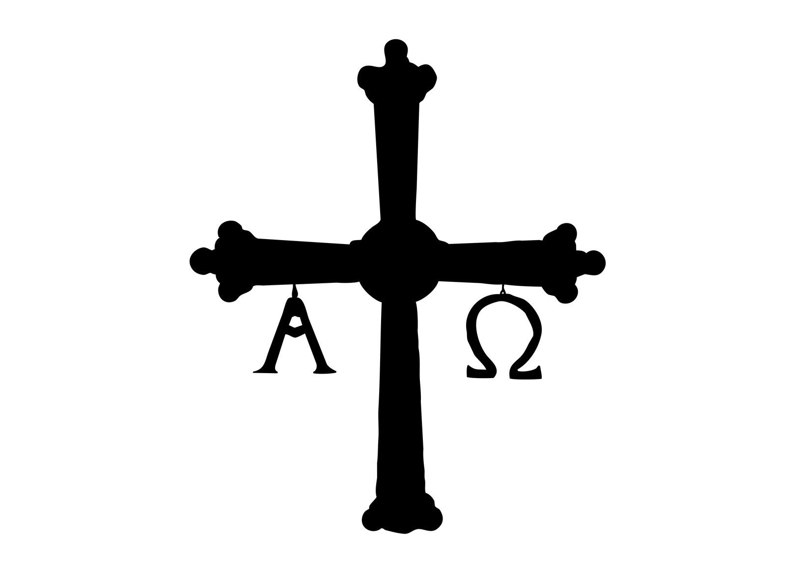 cruz de asturias