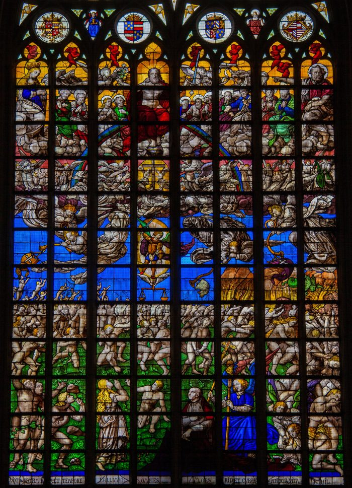 Stained glass - Final Judgement